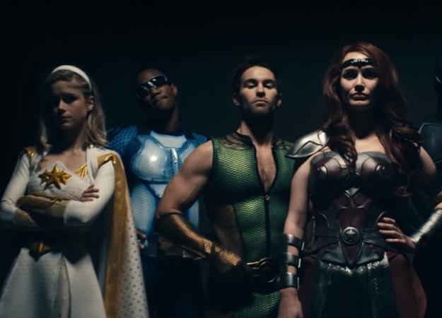 Обычный человек вступает вборьбу ссупергероями вфинальном мрачном трейлере «Пацанов» отAmazon