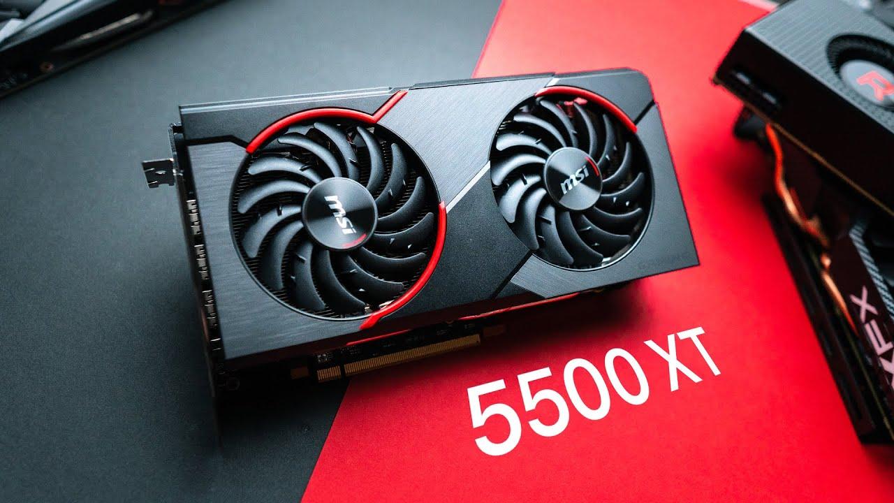 AMD представила бюджетную видеокарту Radeon RX5500 XT