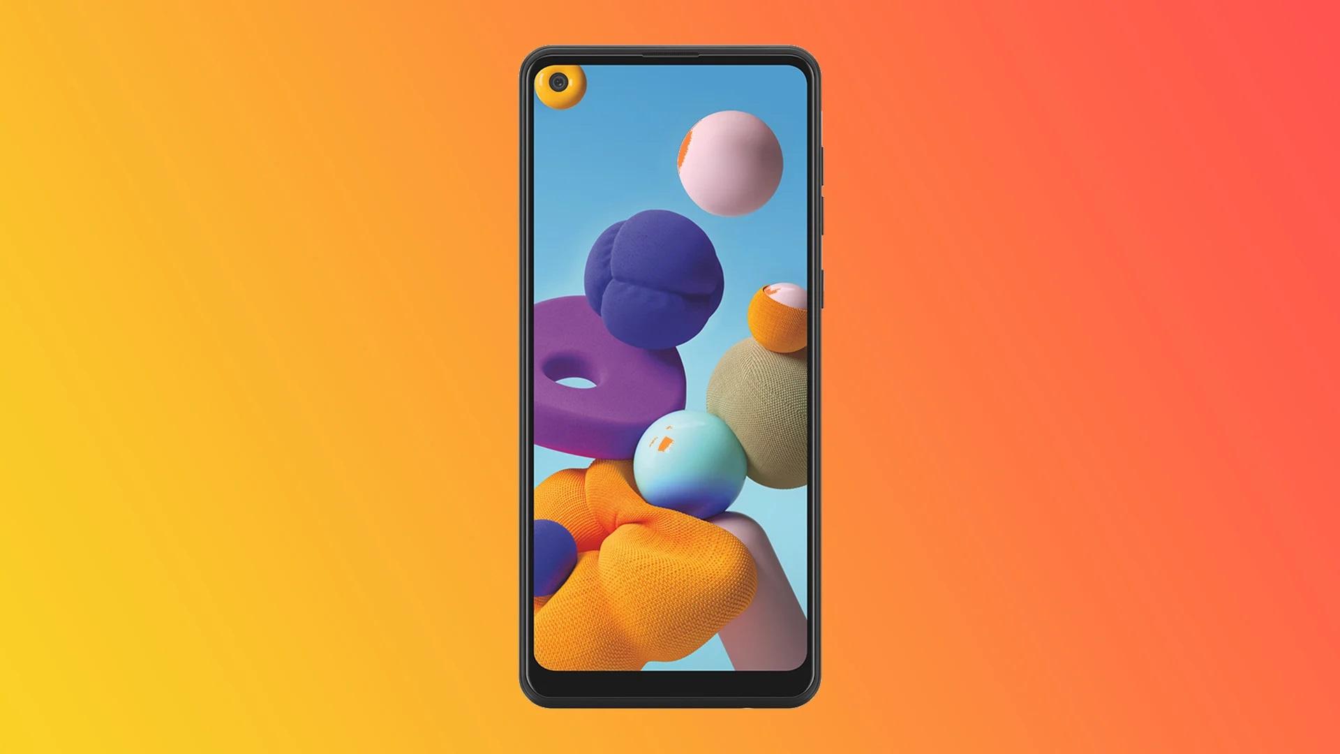Представлен долгоиграющий бюджетный смартфон Samsung Galaxy A21s