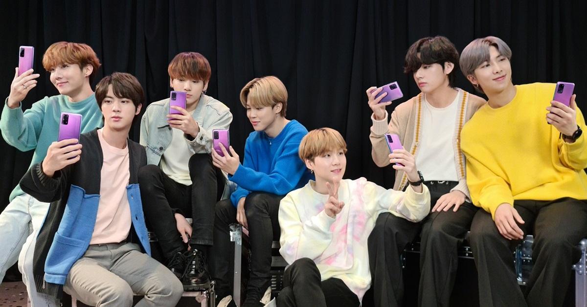 ВРоссии выходит Samsung Galaxy S20+ BTS Edition— фиолетовый флагман для фанатов K-pop группы BTS