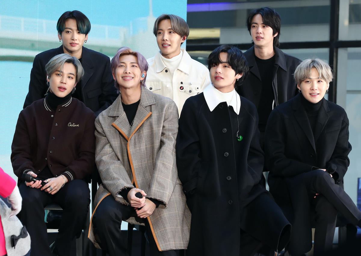 BTS признали лучшей группой года наMTV European Music Awards