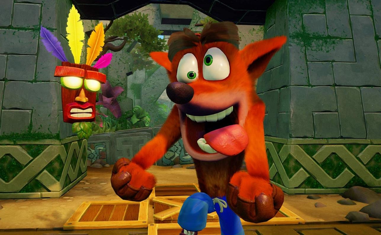 Всеть утекла четвертая часть Crash Bandicoot