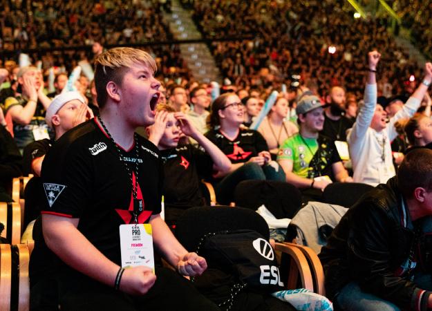 Как зрители помогали Astralis на турнире по CS:GO в Дании