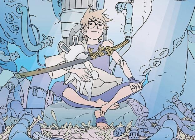 Первые впечатления отSamurai 8: The Tale ofHachimaru— новой sci-fi манги отавтора «Наруто»