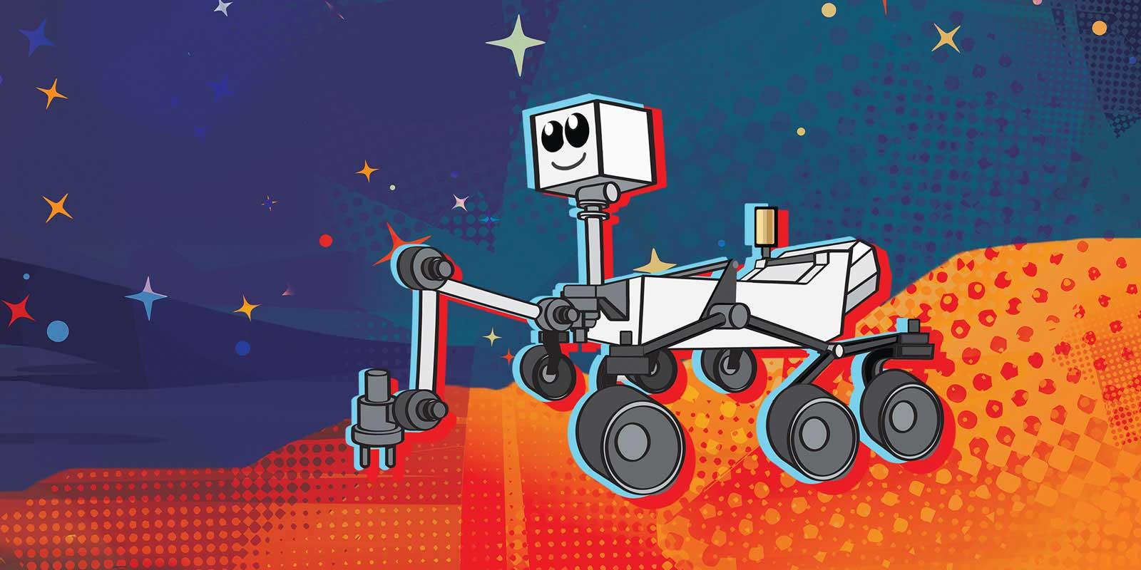 Упорство иотвага: NASA предложила землянам выбрать имя для нового марсохода