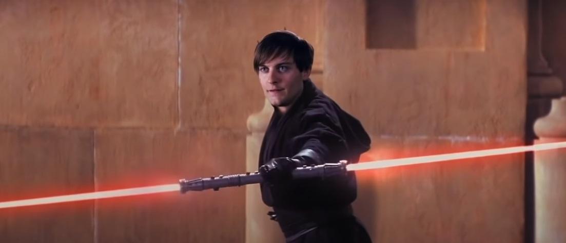 «Звездные войны»: Дарт Тоби Магуйар убивает Оби-Вана Кеноби иКвай-Гона Джинна всмешном видео