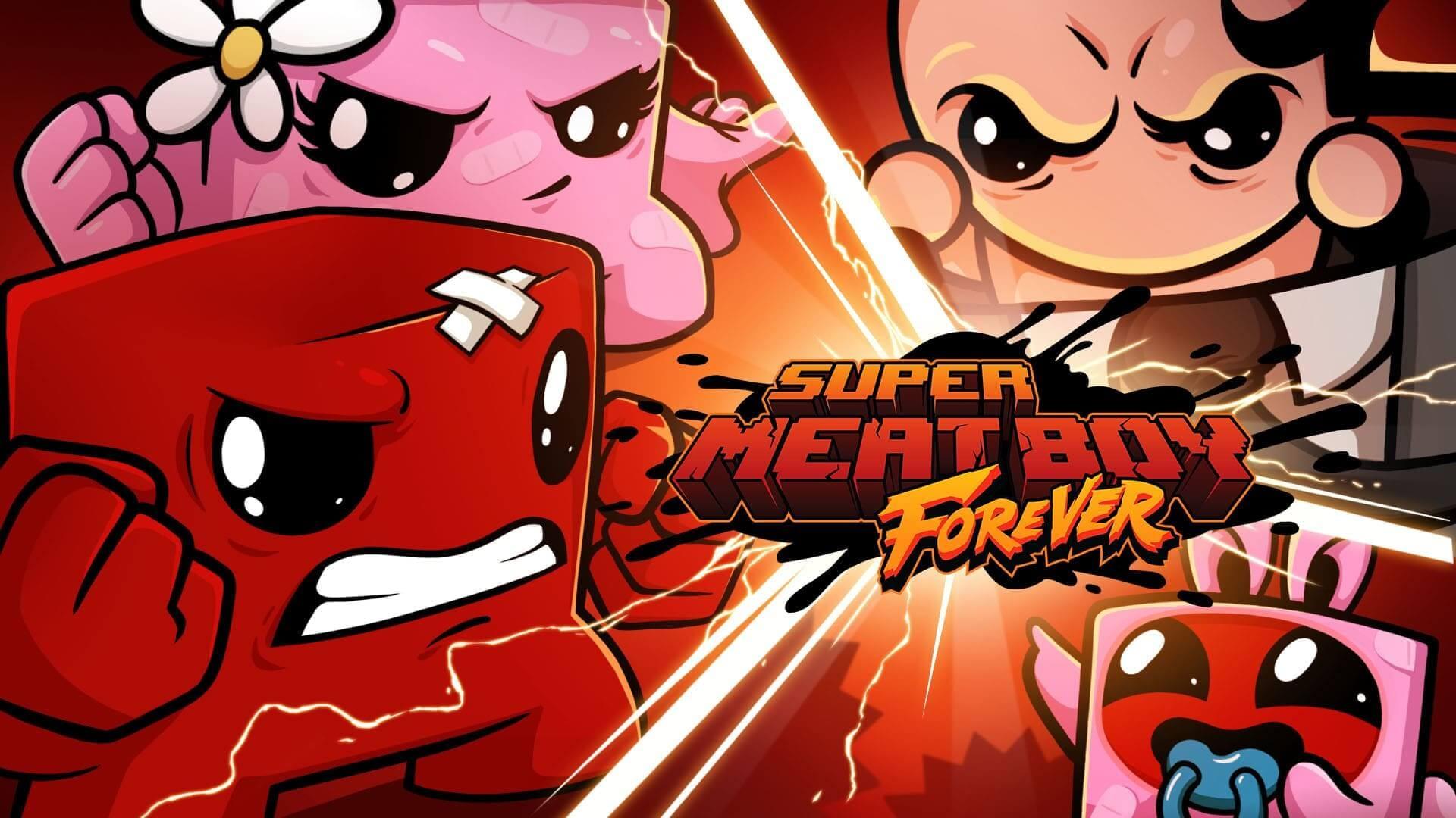 Свершилось: Team Meat выпустила Super Meat Boy Forever