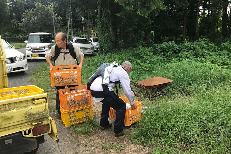 Японские пенсионеры используют экзоскелеты, чтобы продолжать работать