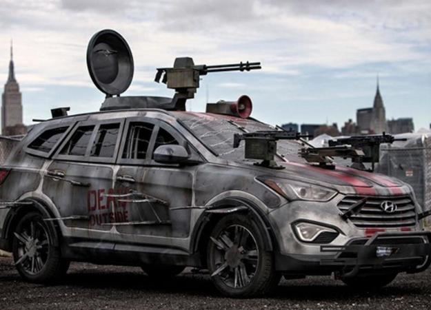 Реальность и«Ходячие мертвецы»— настоящие машины для выживания взомбиапокалипсисе
