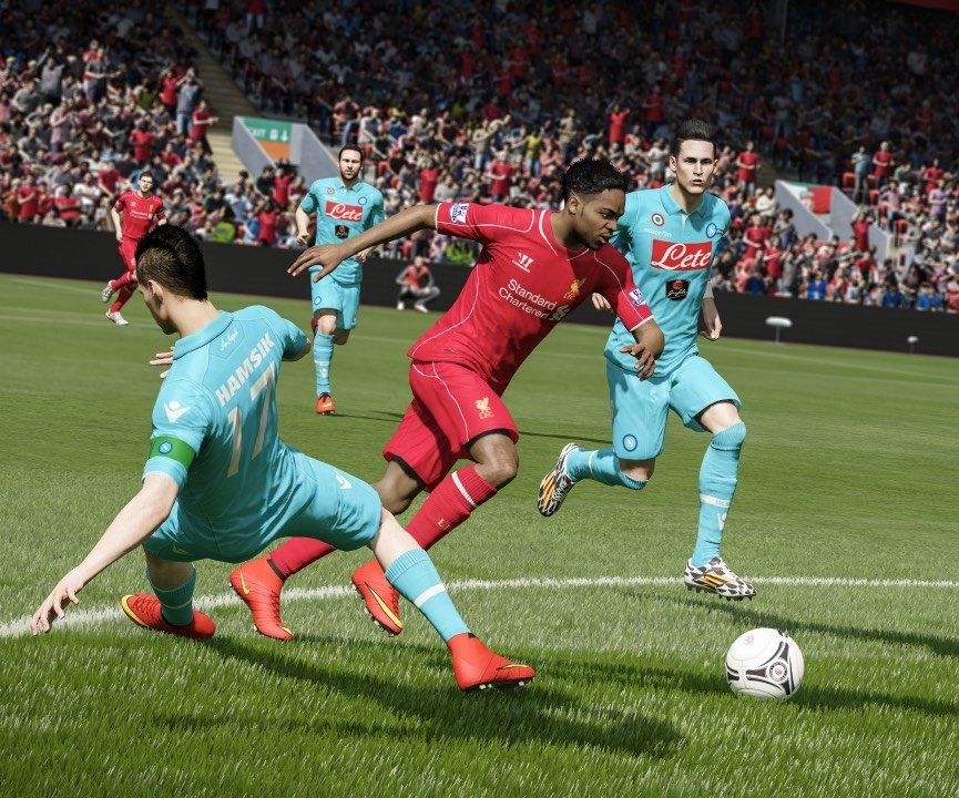 FIFA 15 отбилась от Shadow of Mordor в британском чарте