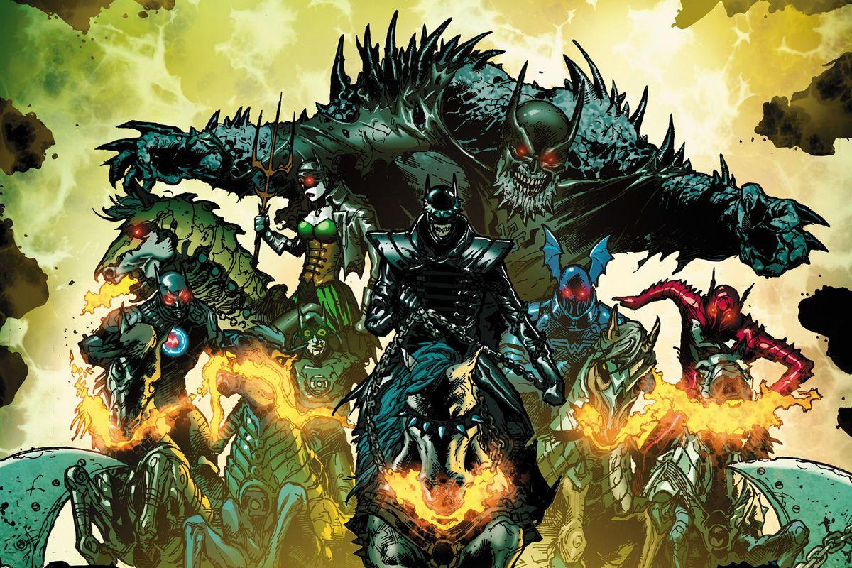 Бэтмен иLumen: как российская группа написала музыку для комикса озлых Темных рыцарях