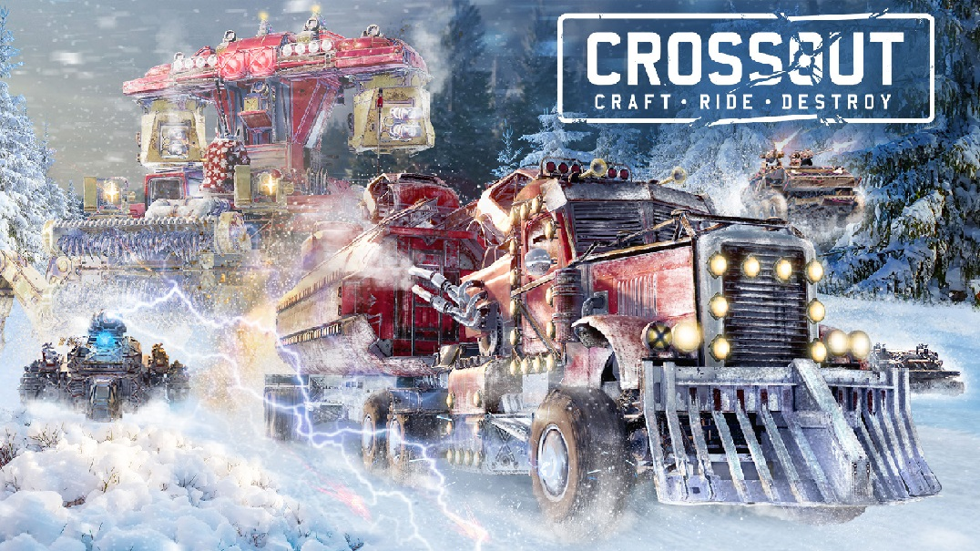 Новогодняя потасовка, новый бронемобиль иподарки: вCrossout свежее обновление