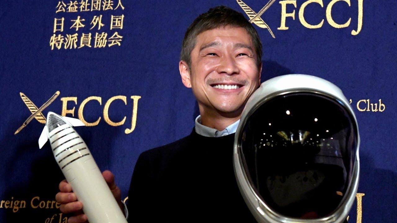 Японский миллиардер решил лететь наЛуну один. Доэтого онсобрался искать спутницу нареалити-шоу
