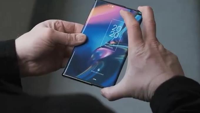 TCL показала растягивающийся смартфон будущего