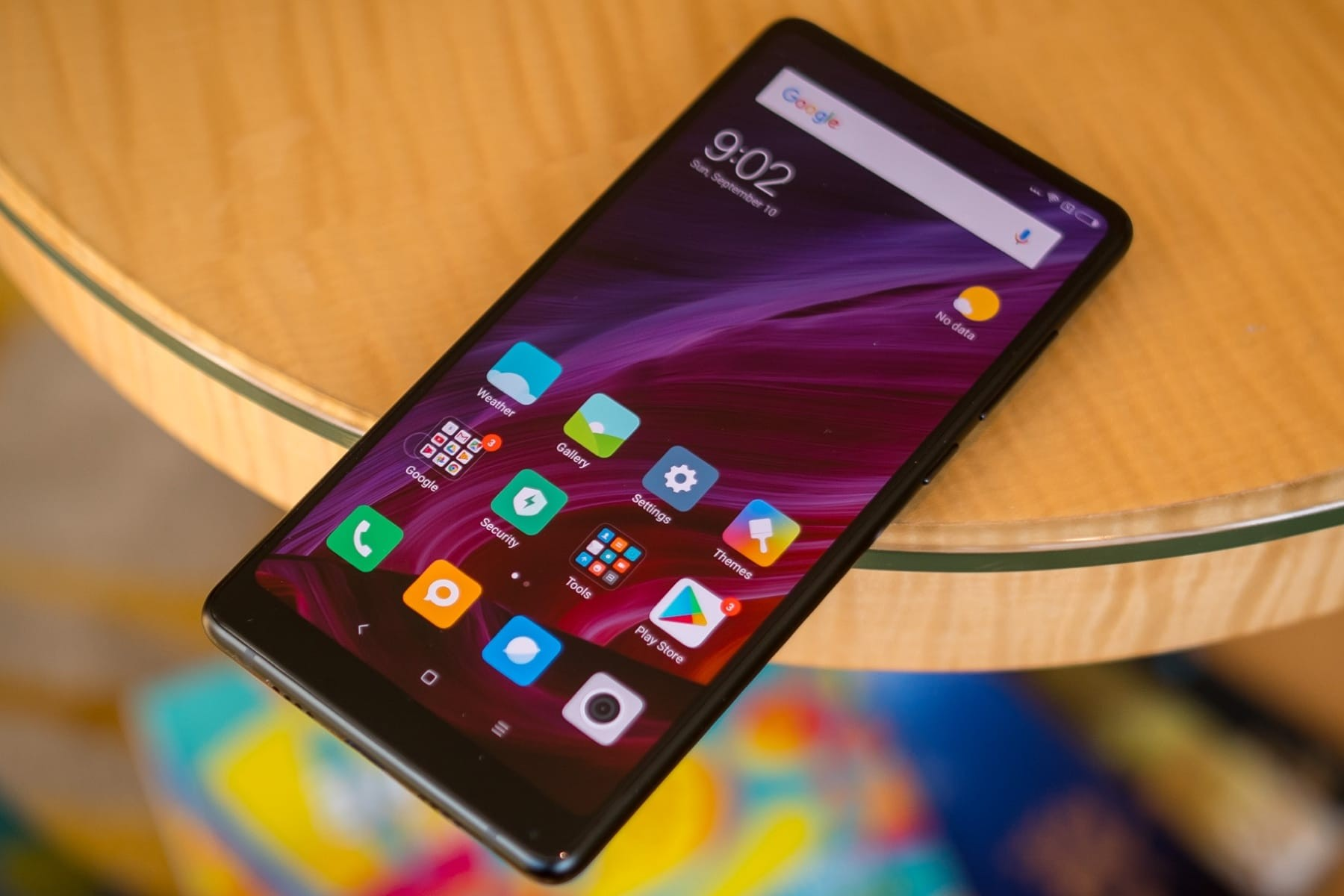 Какой необычный! Опубликован  рендер Xiaomi Mi MIX 2S