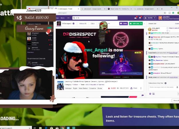 Dr. Disrespect сыграл с 10-летним стримером в Fortnite. Топ-1 они не взяли, но это не главное