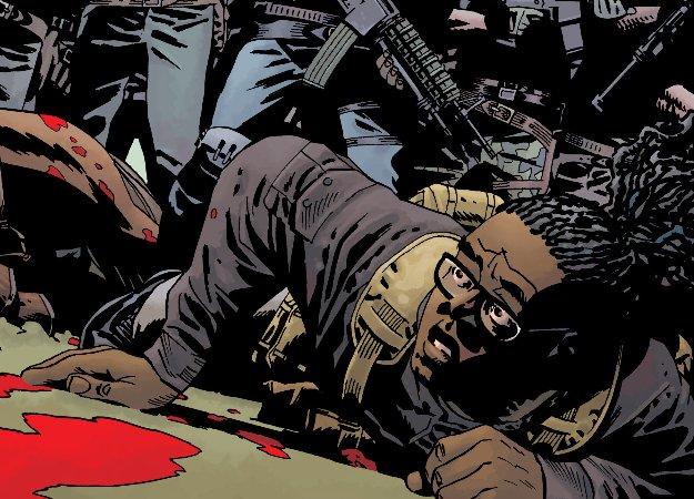 Одного из главных героев «Ходячих мертвецов» укусили в новом номере