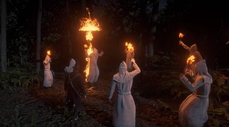 Читеры вкостюмах Ку-клукс-клана атакуют игроков вRed Dead Online