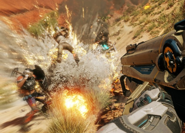 Взрывы, красоты пустошей имного крови вновом 10-минутном геймплее RAGE2