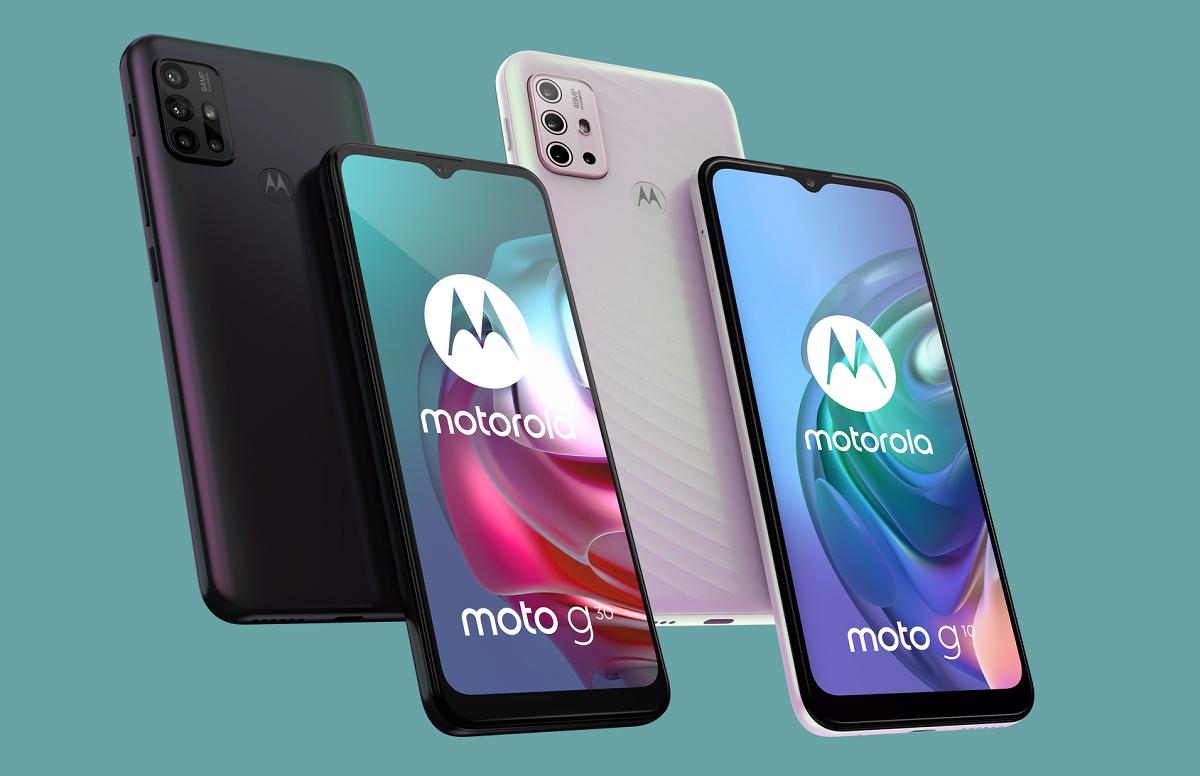 Motorola представила бюджетные смартфоны Moto G10 иMoto G30