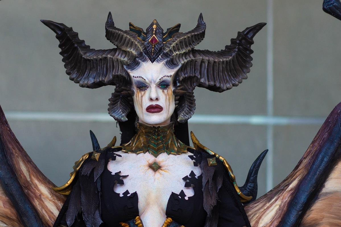 Diablo IVеще невышла, ноуже есть крутой косплей главной злодейки