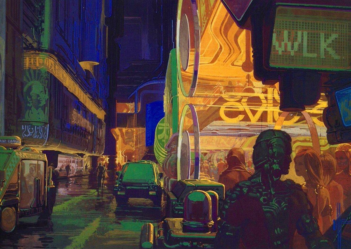 Умер Сид Мид— концепт-художник «Чужих» и«Бегущего полезвию»