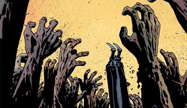 Издательство Image превратило Рика  из «Ходячих Мертвецов» в Негана