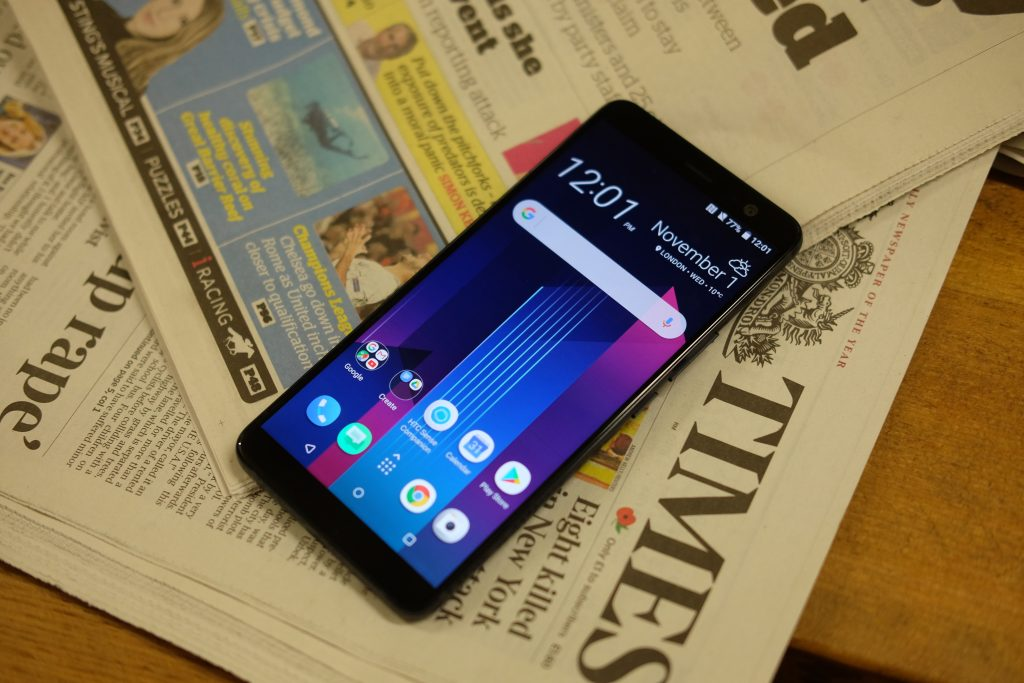 Годнота! Стала известна официальная цена HTC U11+ в России