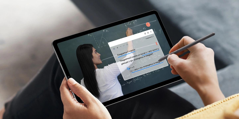 ВРоссию приехал планшет состилусом Samsung Galaxy Tab S6 Lite