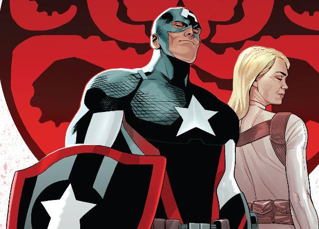 В эпилоге Civil War II Капитан Америка-агент Гидры стал главой ЩИТ