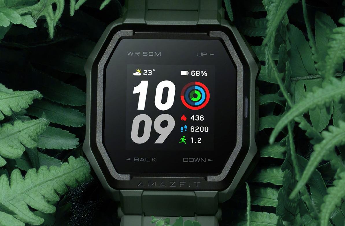 Защищенные смарт-часы Amazfit Ares сGPS небоятся воды истоят 5000 рублей
