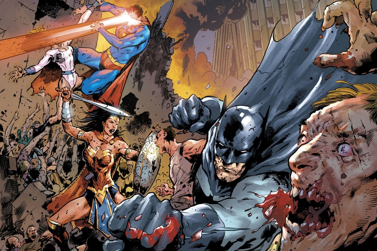 Бэтмен иСупермен против зомби водном изсамых мрачных комиксов этого года