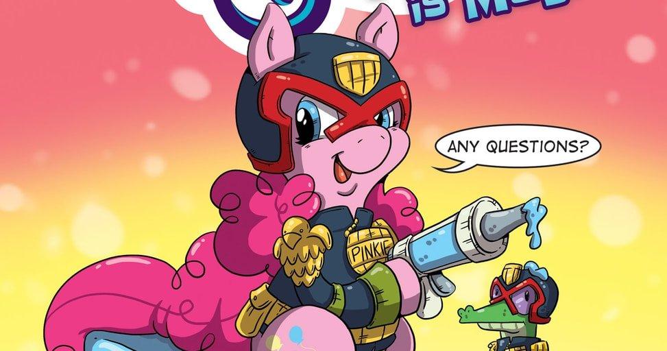 Что будет, если скрестить My Little Pony с судьей Дреддом?