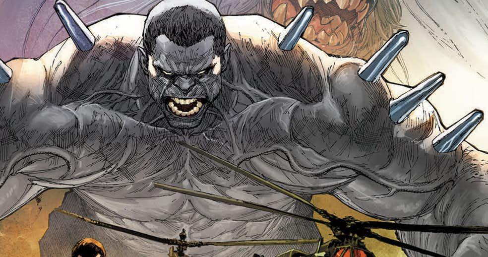 Marvel выпустит сольный комикс про гибрид Халка иРосомахи