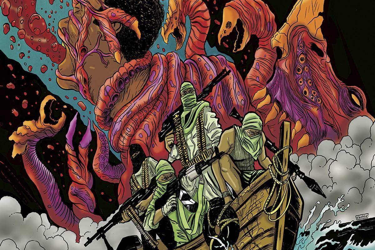 Сомалийские пираты против чудищ. Чем комикс Plunder напоминает старые хорроры про монстров