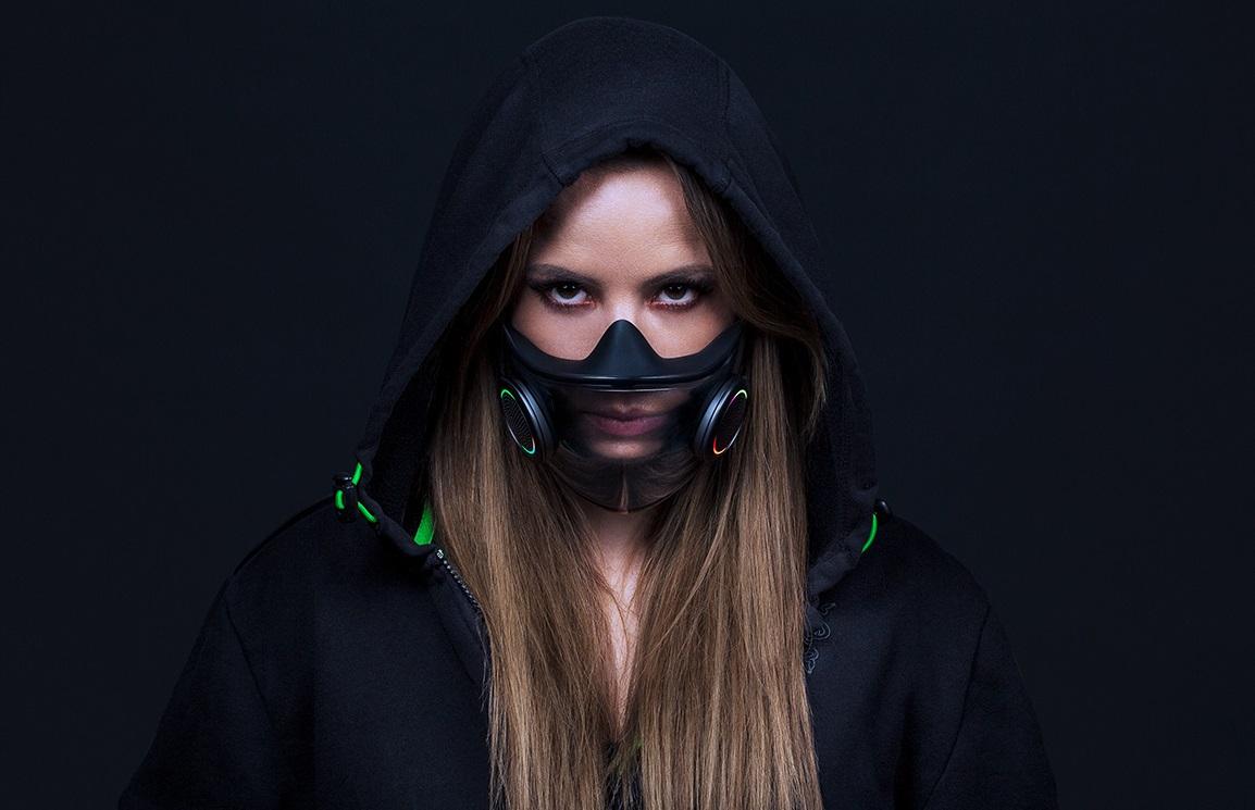 Razer показала Project Hazel— маску сRGB-подсветкой, динамиками исменными фильтрами