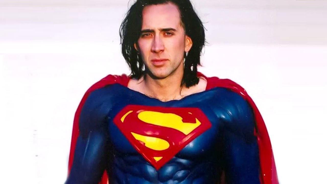 Какбы Николас Кейдж мог выглядеть вроли Супермена иТерминатора. Это фан-арт
