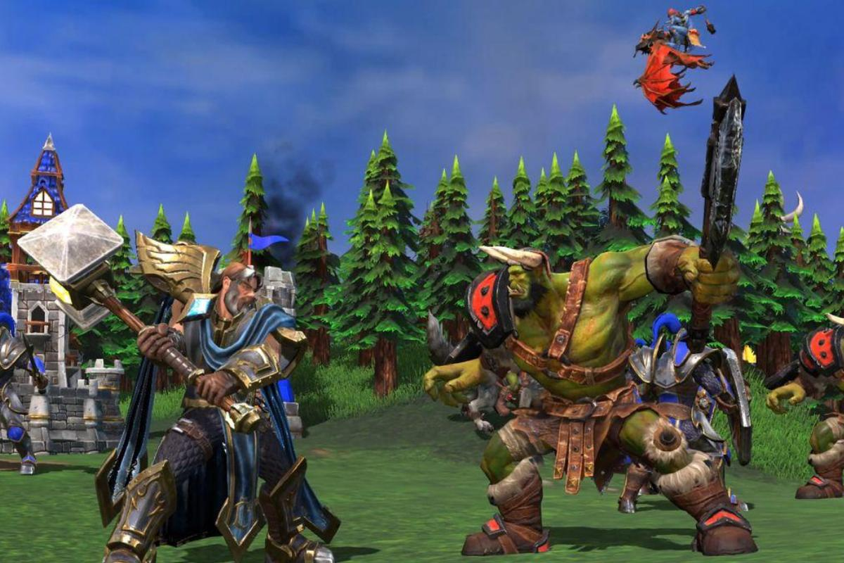 Ухудшение графики Warcraft III: Reforged продемонстрировали навидео