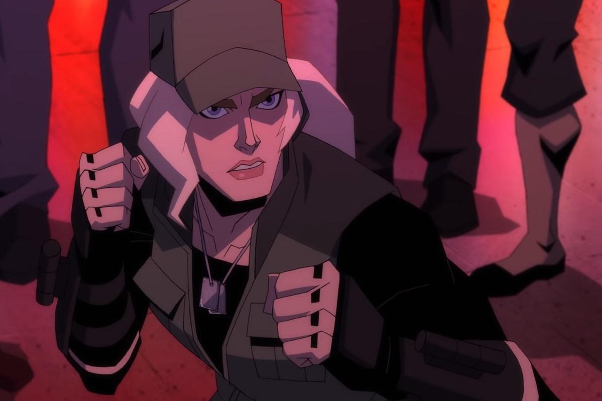 Новый ролик изанимационного Mortal Kombat посвящен Соне Блейд