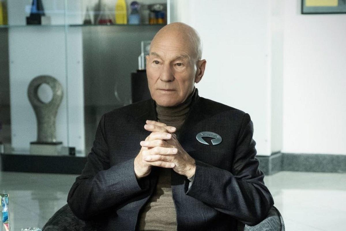 Капитану Пикару несидится напенсии втрейлере нового «Звездного пути»