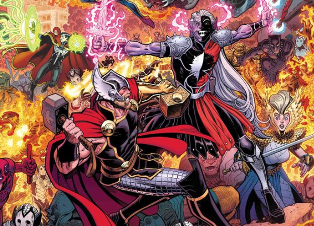 War ofthe Realms. Как супергерои вместе сТором иАсгардом Землю отвторжения защищали