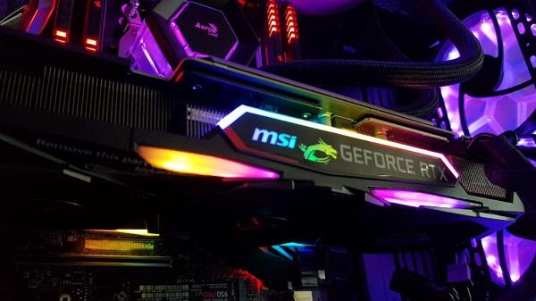 MSI поделилась первыми тестами своей версии RTX 2080Ti