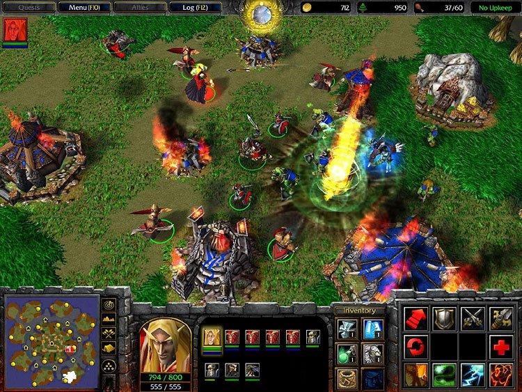 скачать бесплатно игру варкрафт 3 фрозен трон Warcraft 3 Frozen Throne - фото 5