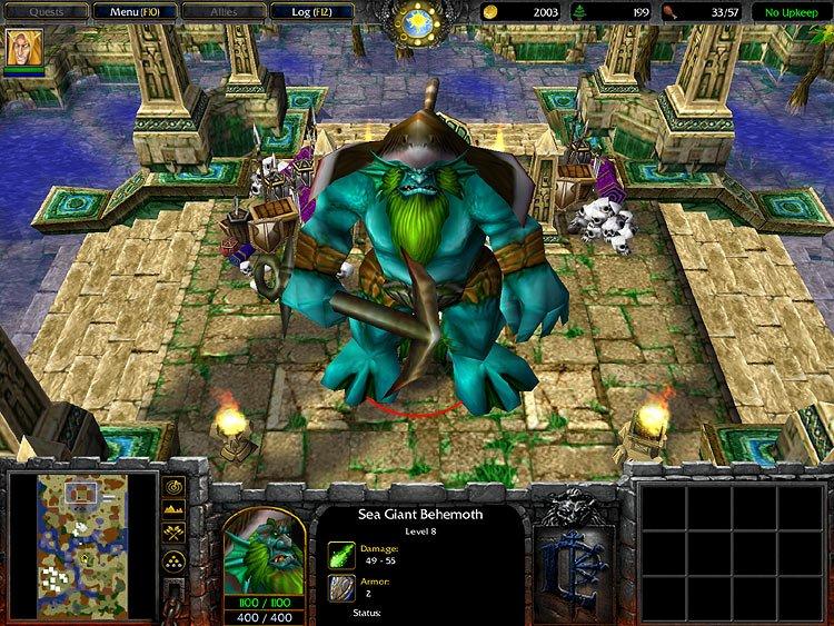 скачать бесплатно игру варкрафт 3 фрозен трон Warcraft 3 Frozen Throne img-1