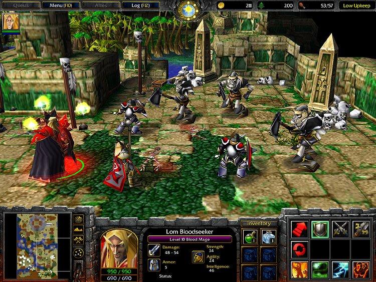 скачать бесплатно игру варкрафт 3 фрозен трон Warcraft 3 Frozen Throne - фото 11