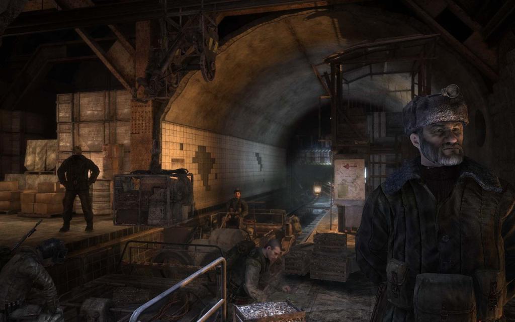 картинки метро 2033 игры