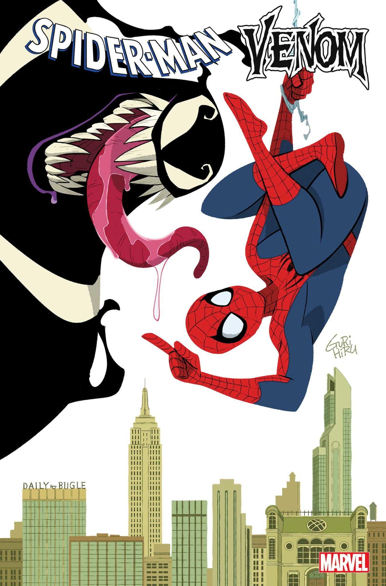 Веном и Человек-паук поменяются телами. Классическая комедия с героями комиксов?   Канобу