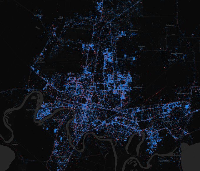 In Moscow - iPhones, in St. Petersburg - Android. What are the maps of Android and iOS users in Russia | Kanobu - Image 5