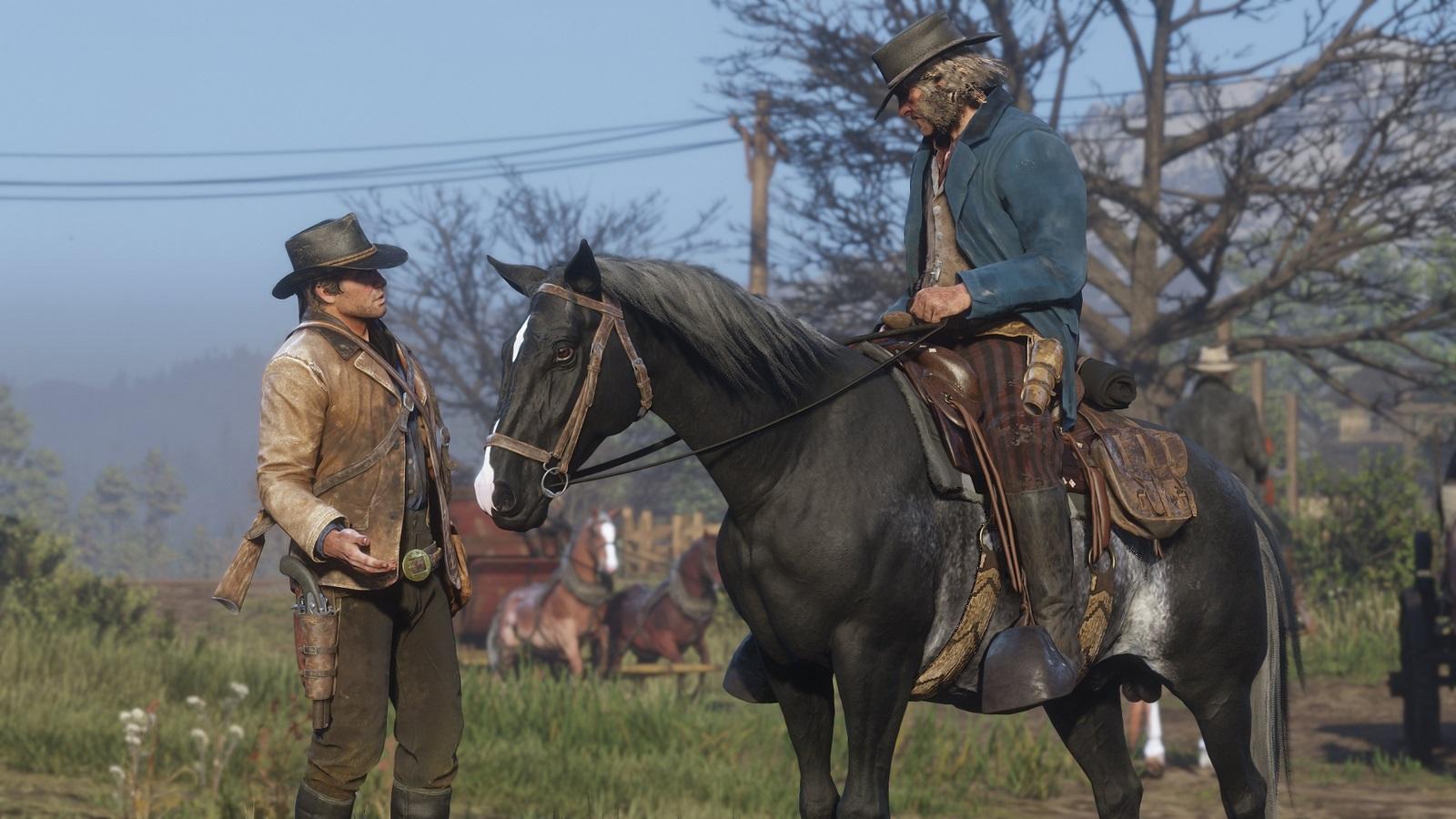 В Red Dead Online новые странности — игроки находят кучи из мертвых лошадей | Канобу