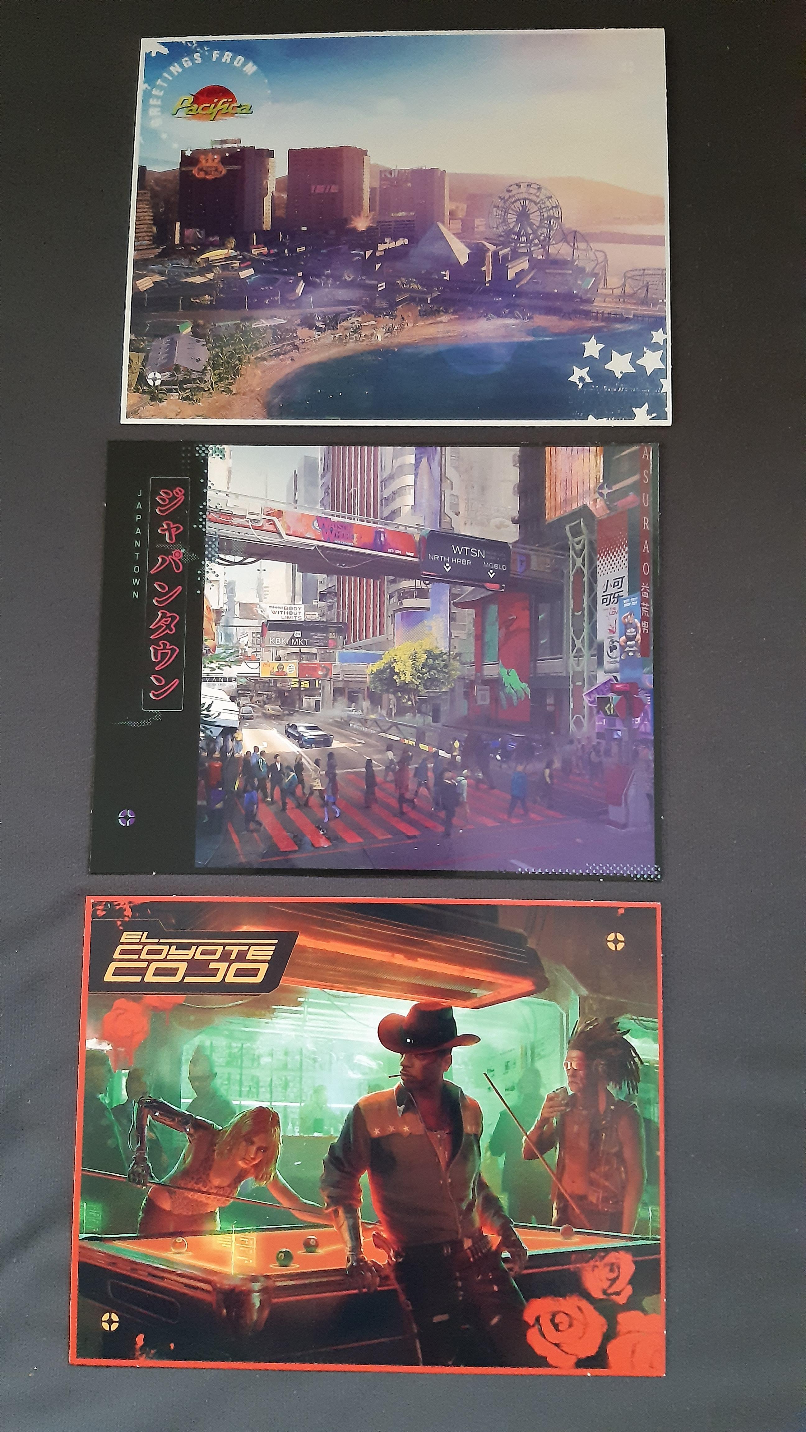 В сеть утекла карта Найт-Сити из коллекционного издания Cyberpunk 2077